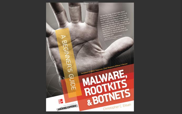 eBook: Malware, Rootkits & Botnets - A Beginner's Guide (2013)