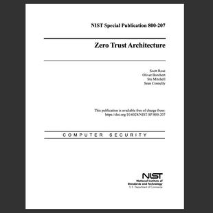 NIST 800-207 / Zero Trust Architecture
