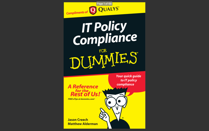eBook: IT Policy Compliance for Dummies (2010)