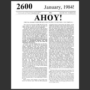 2600 Magazine - Number 01 - JANEIRO 1984