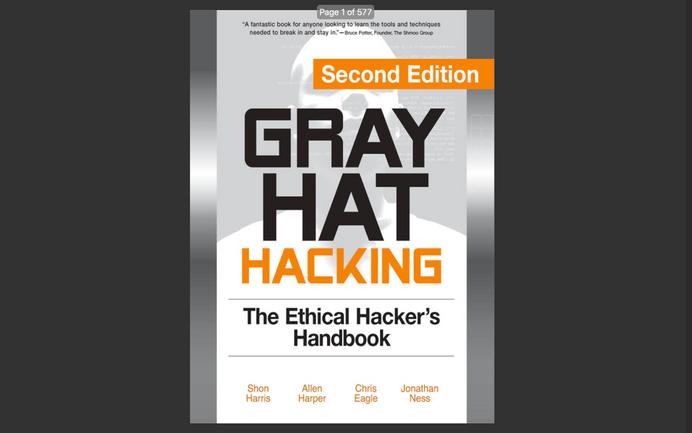 eBook: Gray Hat Hacking (The Ethical Hacker's Handbook) - 2008