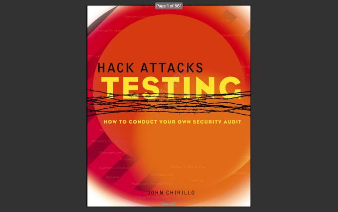 eBook: Hack Attacks Testing (2003)