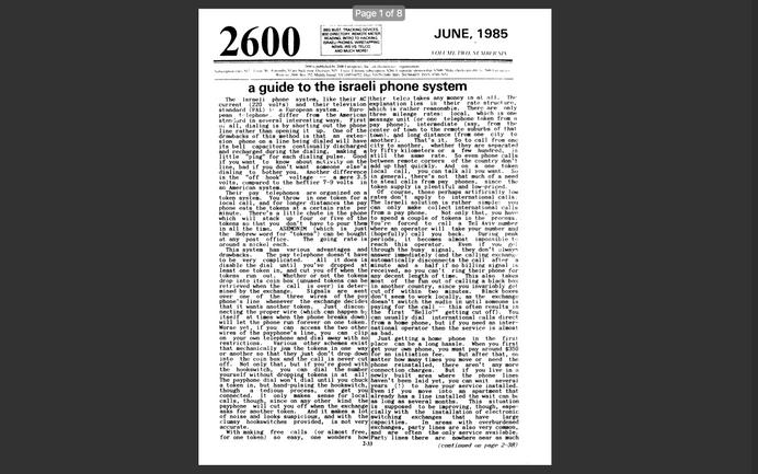 2600 - Ano 2 - Edição No 06 - Junho 1985