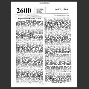 2600 - Ano 2 - Edição No 05 - Maio 1985