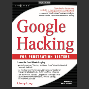 eBook: Google Hacking for penetration testers