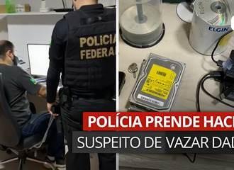 PF prende hacker suspeito de vazar dados de 223 milhões de brasileiros