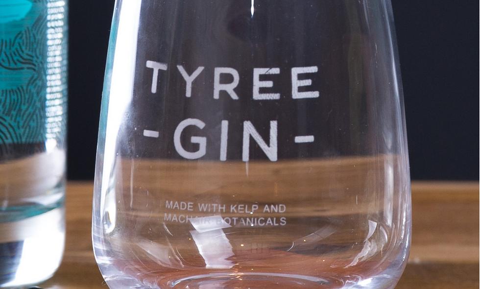 2 x Tyree Gin Premium Tumblers