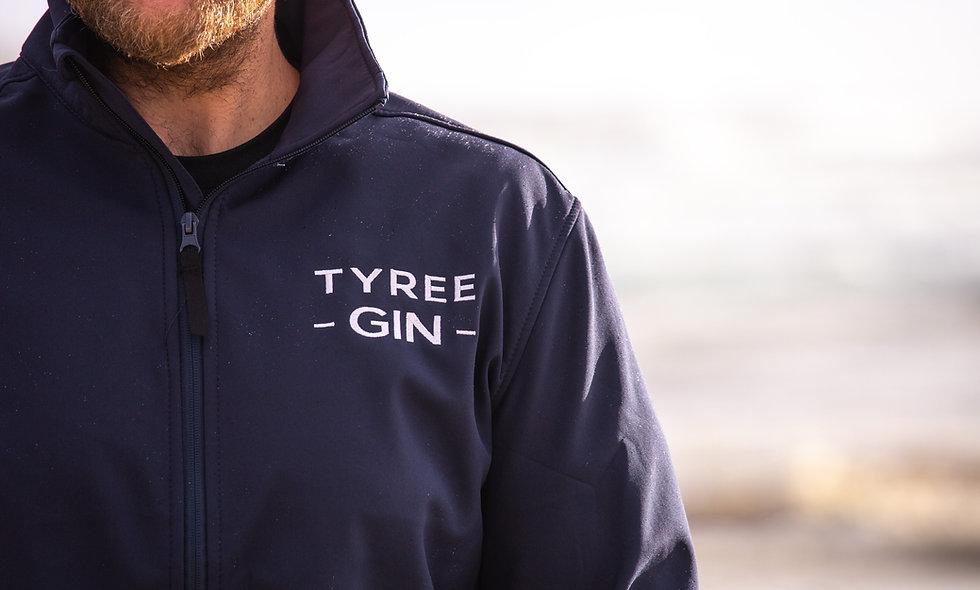 Tyree Gin Regatta Navy Softshell Jacket