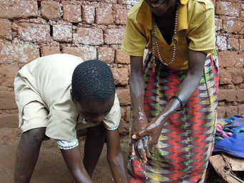 RANAS behavior change techniques in a handwashing film