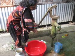 Drinking safe water
