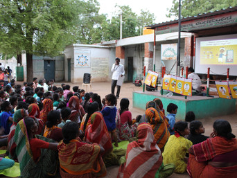 RANAS behavior change strategies to avoid open defecation in India