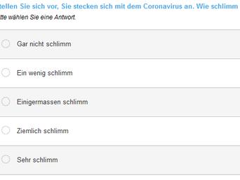 COVID-19 Questionnaire online