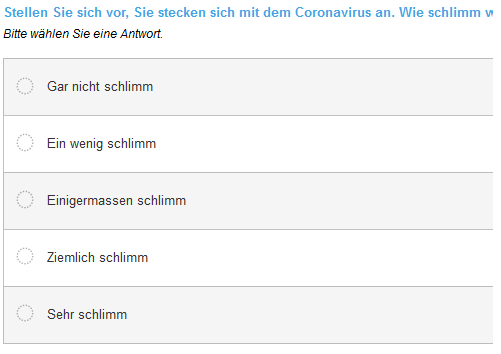 COVID-19 Questionnaire