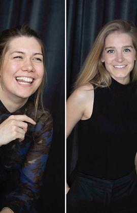Katja Dunkel und Rebecca Richter