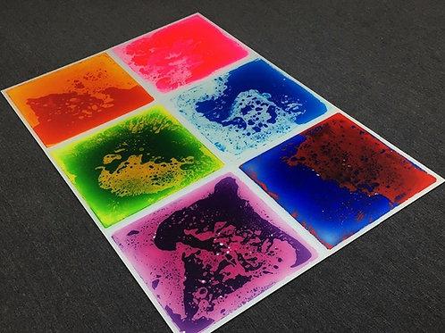 Sensory Liquid Floor Tiles