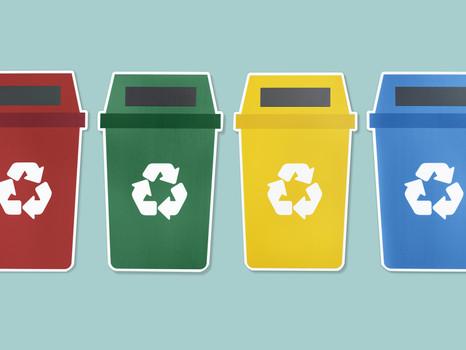 Materiais que são recicláveis!