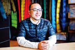 真綿布団の縫製工場からアパレルメーカーへ転換/ナンガ  横田智之社長