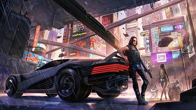 Cyberpunk 2077 adia primeira grande atualização