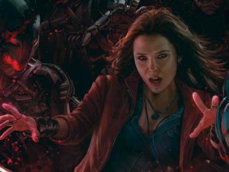 WandaVision: Posters revelam detalhes sobre novo fato de Scarlet Witch