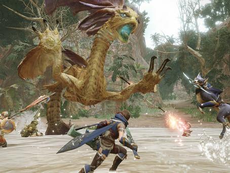 Monster Hunter Rise já vendeu 4 milhões de unidades