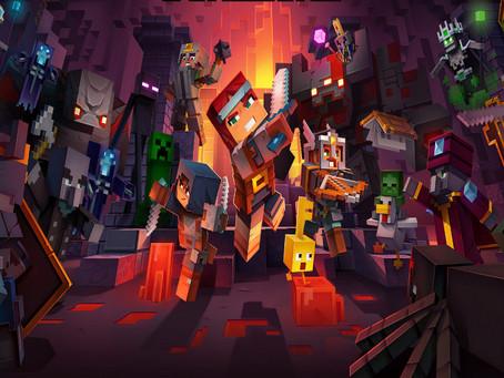 Minecraft Dungeons atinge os 10 milhões de jogadores