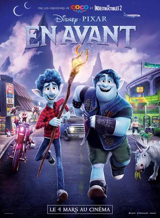 En Avant, le nouveau film d'animation de Pixar