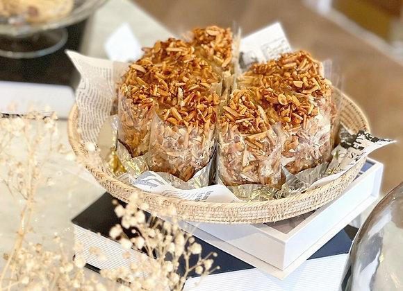 Roasted Almond  Coffee Cake 2 Pound