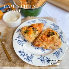 ham and cheese scone