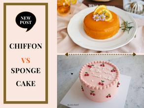 Chiffon Cake vs Sponge Cake 🤜🤛