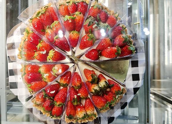 Strawberry Cream Pie  3 Pound