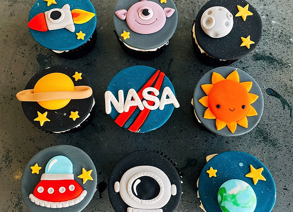 Space x cupcake 9 Cup