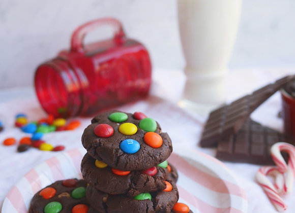 M&M Soft baked Cookie 26/12