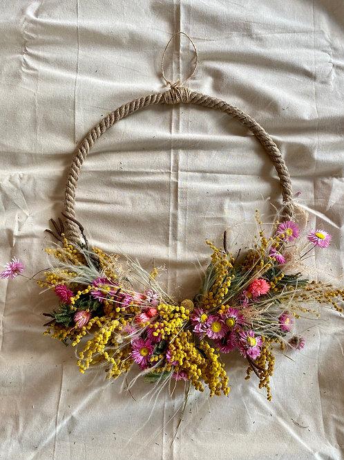Dried Spring Wreath