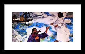 walk-of-faith-george-addison FRAMED PRIN