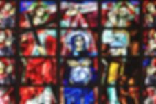 Vitraux, Basilique, Notre Dame de la Trinité