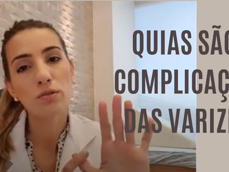 Vídeo: Quais são as complicações das varizes?
