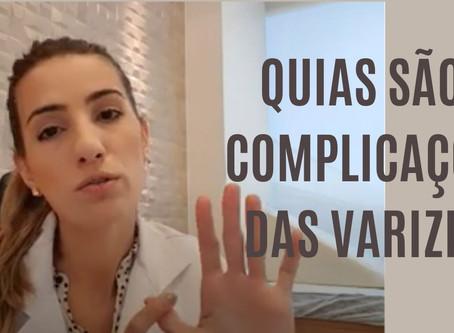 Vídeo: Quais são as principais complicações das varizes?