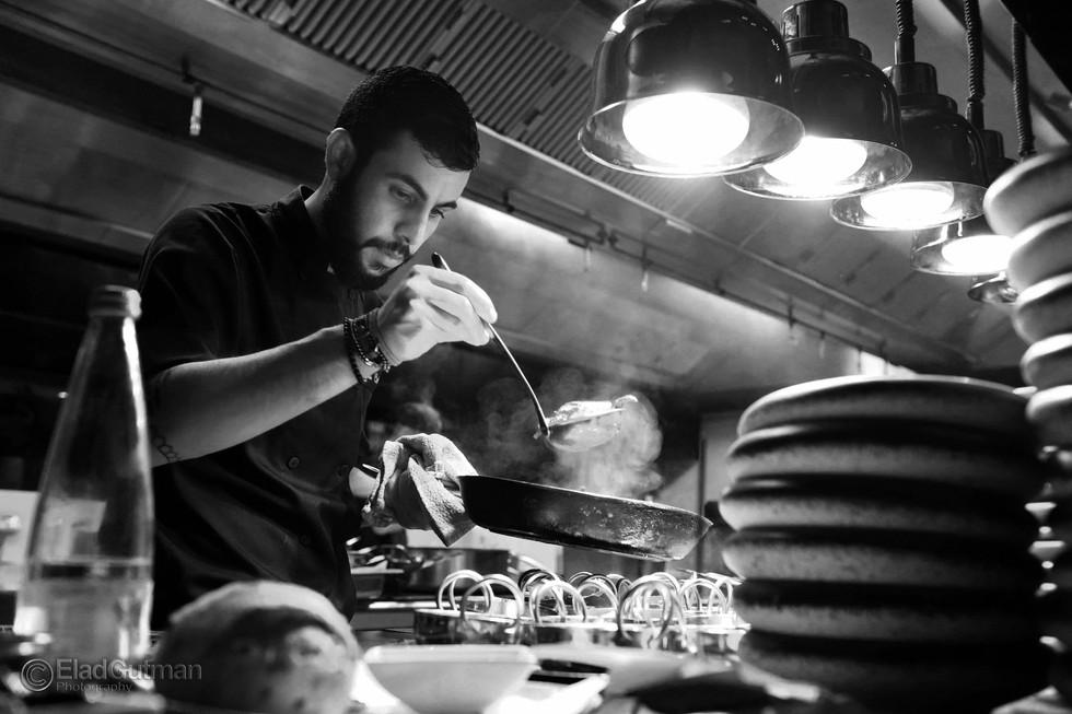 שף עומרי כהן לתחרות העולמית של פסטה ברילה