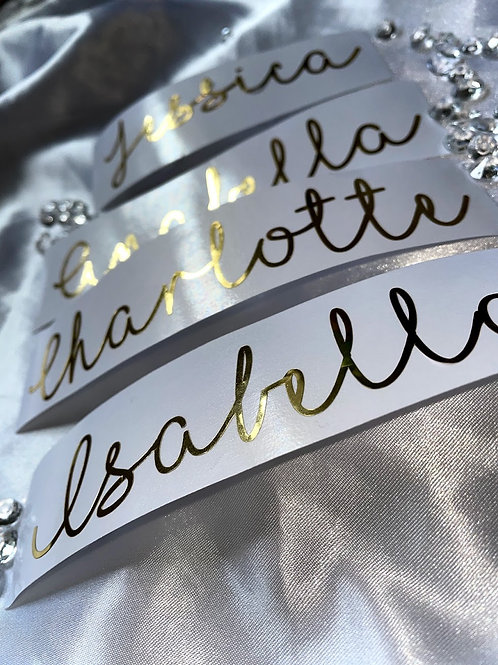 Personalised Name Word Vinyl Decal Stickers