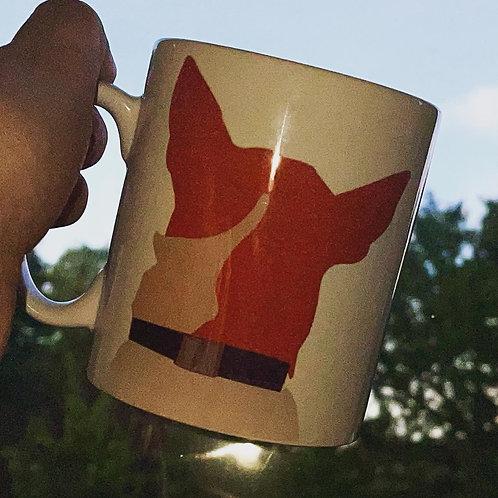 Personalised cartoon mug