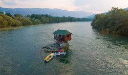 House on the rock Drina river