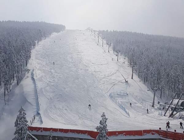 Divcibare-ski-slope