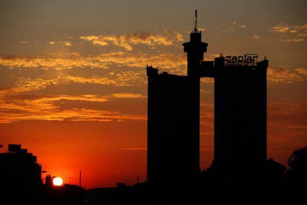 Belgrade-sunset