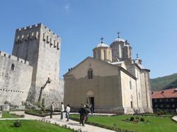 Manasija-monastery-church