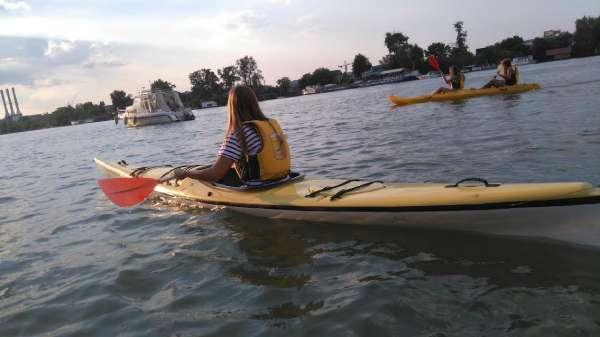 Sava-kayaking