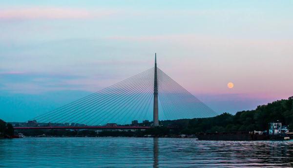Ada-bridge-Belgrade
