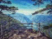 Banjska rock viewpoint - National park T