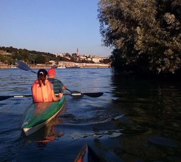 Belgrade-kayaking