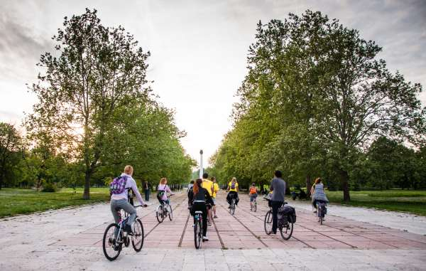 Belgrade-bike-tour-park