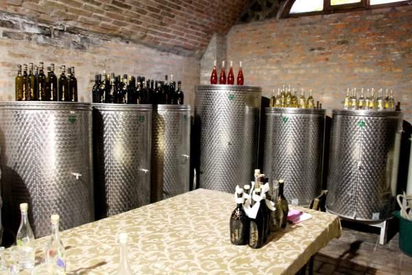 Miljevic-wine-cellar